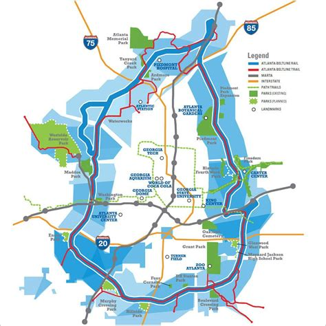 atl map atlanta beltline overview atlanta beltline