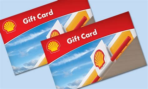 Shell Gas Cards Gift - 10 shell card shell groupon