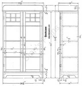 Blueprints For Bookshelves Easy Bookcase Plans Free 187 Woodworktips