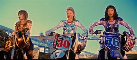 motocross movie cast charlie s angels full throttle 2003 review basementrejects