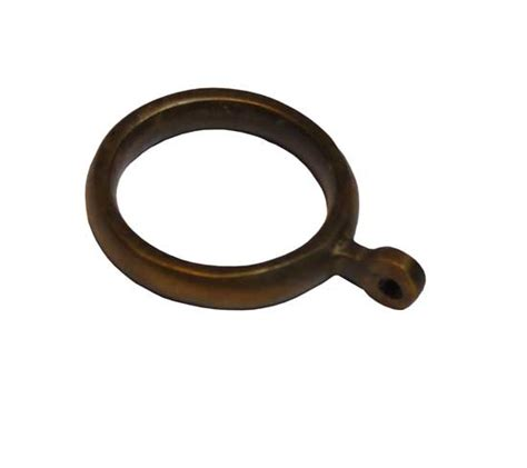 copper curtain rings arts and crafts drapery hardware