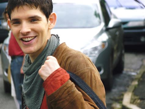 merlin television photo 30435225 fanpop colin merlin smile www imgkid the image kid