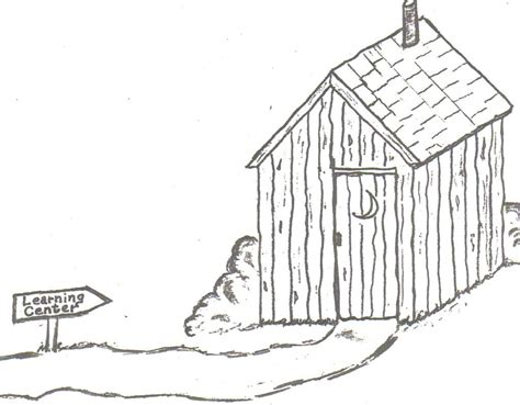 wood house coloring pages pin stick house colouring pages on pinterest sketch