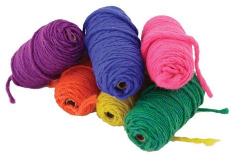 Harrisville Rug Loom Lap Loom Yarn Variety Pack 6 Balls Multi Craft Equipment