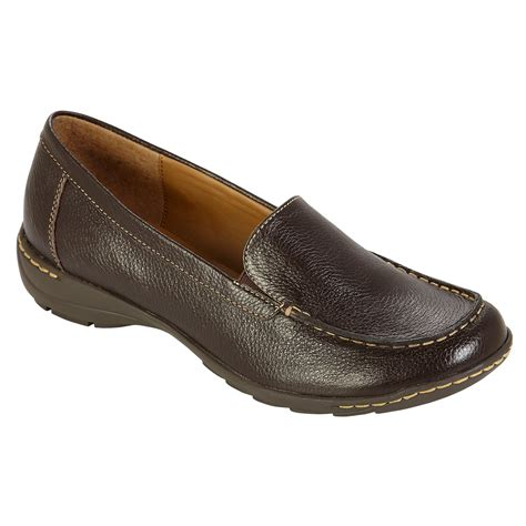 i love comfort shoes at sears i love comfort women s casual leather loafer larson brown