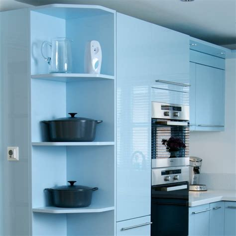 shelf ideas for kitchen install a cool corner best kitchen shelving ideas