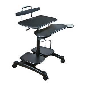 Ergonomic Computer Desk Cotytech Ct Pch Ergonomic Sit Stand Computer Desk Atg Stores