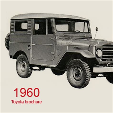 1960 Toyota Land Cruiser 1960 Toyota Land Cruiser Brochure 171 Missedmyride
