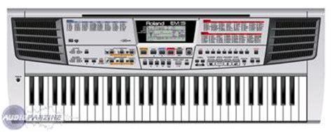 Keyboard Roland Em 15 user reviews roland em 15 audiofanzine