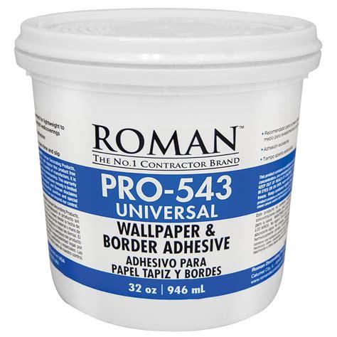 pro 543 1 qt universal wallpaper adhesive 209902