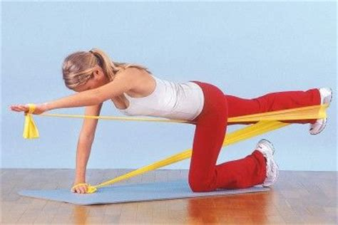 1000 images about pilates theraband exercises on triceps pilates workout and back