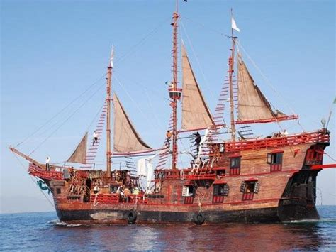 barco pirata vallarta marigalante marigalante isla del tesoro actividades puerto vallarta