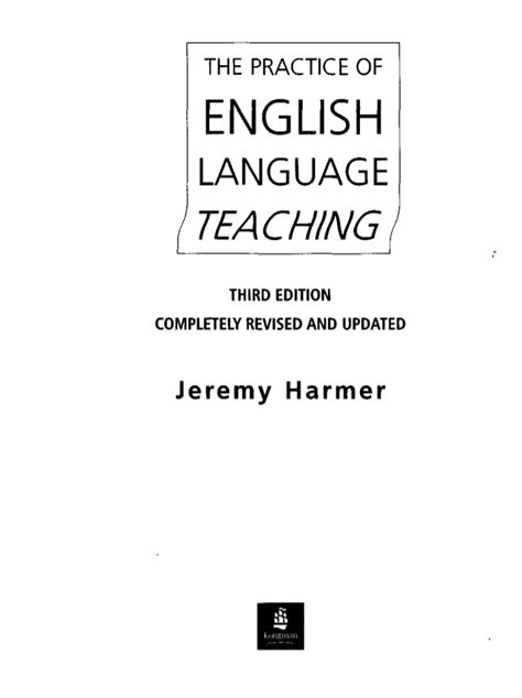 Bl 3 308 Introducing Language For M H harmer the practice of language teaching