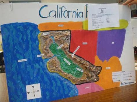 california map project california map project 4th grade