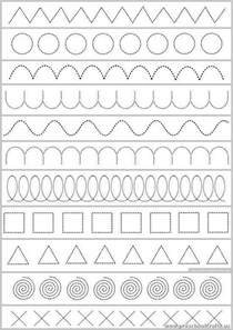 different trace the dotted lines worksheets preschool crafts