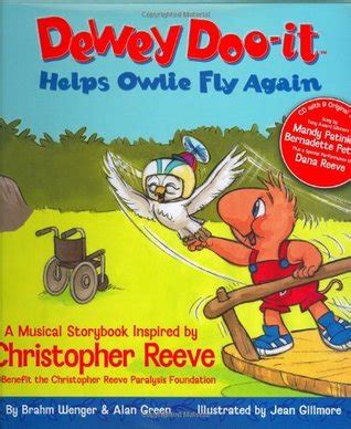 will i fly again books dewey doo it helps owlie fly again a musical storybook