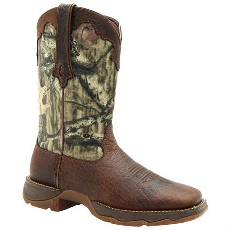 camo cowboy boots rebel by durango 174 10 quot camo cutie western boot mossy