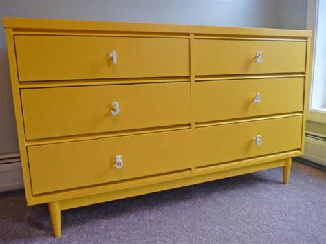 Yellow Dresser by Nursery Dresser Check Domestic Adventure