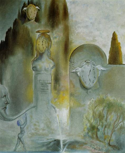 Garden Of Hours The Garden Of Hours Salvador Dali Wikiart Org