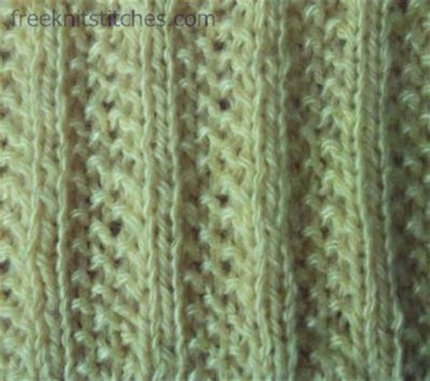 Knitting Ribbing Pearl Rib