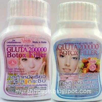 Gluta 200k Botox Filler pengguna gluta 200k botox filler fesyen tips penjagaan