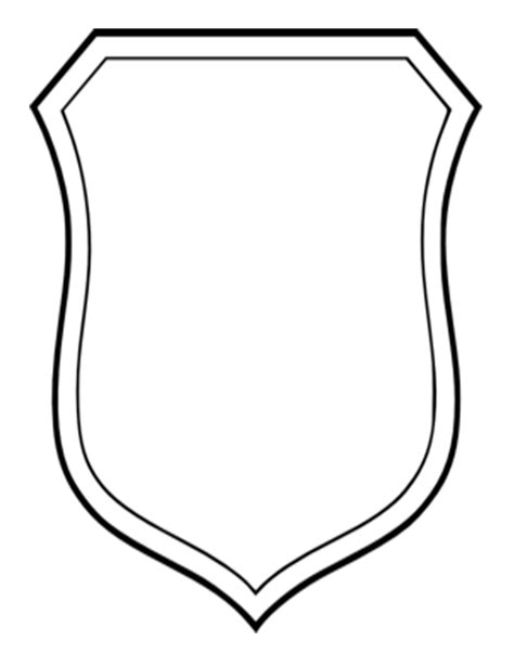family shield template blank crest template cliparts co