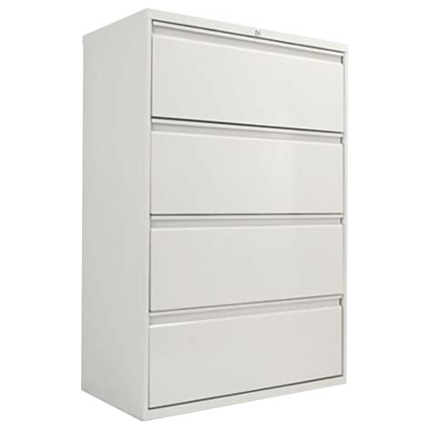 What Is A Lateral Filing Cabinet Alera Alelf3654lg Light Gray Four Drawer Metal Lateral File Cabinet 36 Quot X 19 1 4 Quot X 53 1 4 Quot