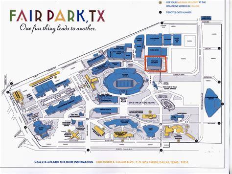 texas state fair parking map fair park map clubmotorseattle