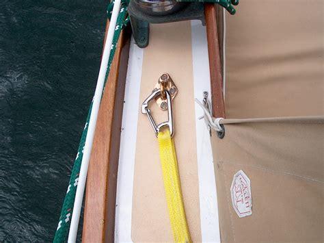 sailboat jacklines pearson triton 381 glissando installing jacklines