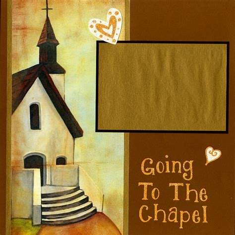 Going To The Chapel going to the chapel 12 quot x12 quot pages set includes