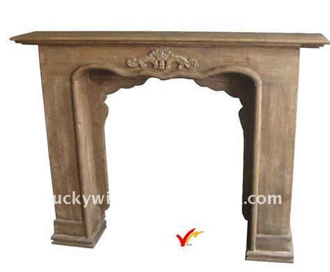 chimenea frame de madera de pie decorativa chimenea buy decorativo