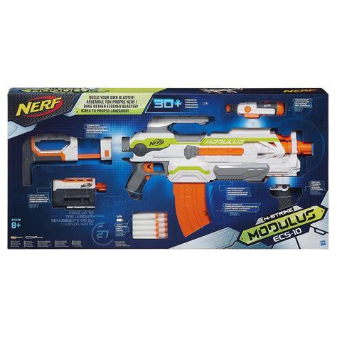 Nerf Ecs 10 Stock nerf n strike modulus ecs 10 blaster 163 60 00 hamleys