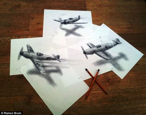 3d Sketches On Paper by The Pictures That Draw You In Amazing 3d Sketches That