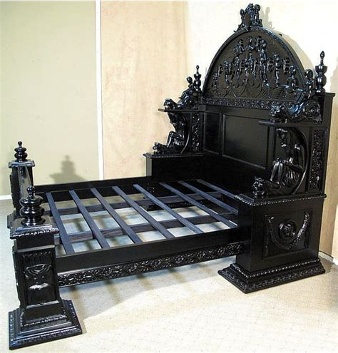 gothic bedroom furniture for sale i could build this gothic pinterest beautiful