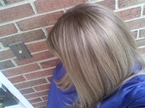 chunky blonde highlights for grey hair pinterest the world s catalog of ideas