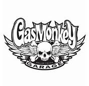 Gas Monkey Garage Logo Black