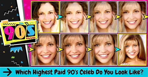 which celeb do i look like quiz which highest paid 90 s celeb do you look like vonvon