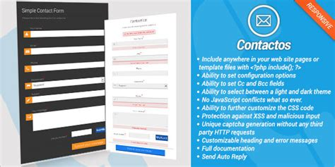 30 Best Php Contact Form Templates Free Premium Templates Php Form Template