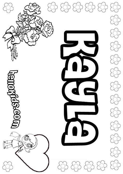coloring book pages names coloring pages hellokids