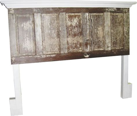 vintage door headboards king size distressed 80 130 yr old door headboards from