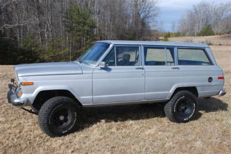 Jeep Wagoneer Lifted Sell Used 1988 Jeep Grand Wagoneer Lifted 4x4 In Mill