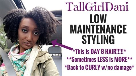 natural hairstyles that are easy to maintain low maintenance styling 4c natural hair youtube