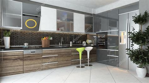 modern kitchen interior design stock photo 169 sseven