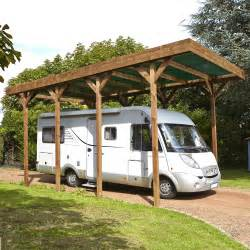 Attractive Brico Depot Carport Voiture #14: Carport-bois-camping-car-1-voiture-28-6-m2.jpg