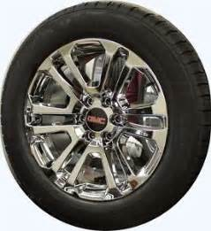 20 Inch Wheels For Gmc Truck Set 4 New 20 Inch Gmc 1500 Denali Yukon Chrome