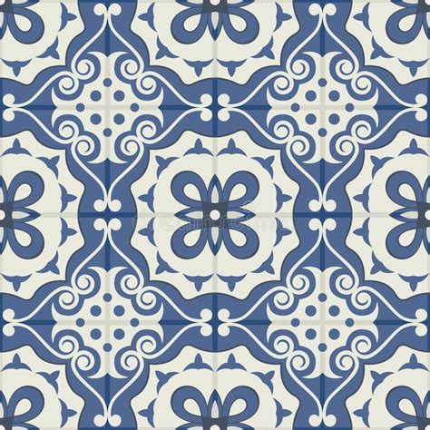 pattern tiles web gorgeous seamless patchwork pattern from dark blue and