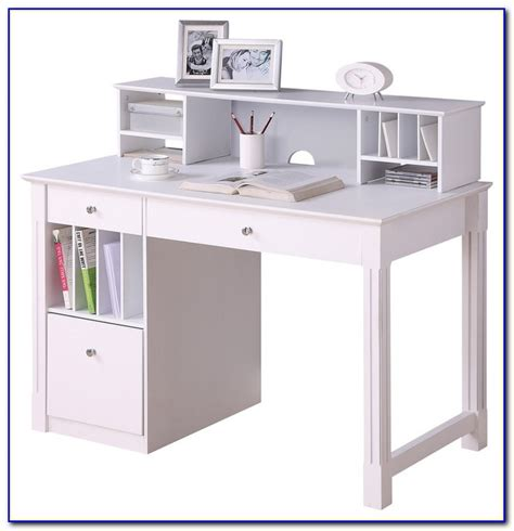 White Computer Desk With Hutch Ikea Desk Home Design White Desk With Hutch Ikea