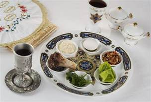 Small Kitchen Organizing Ideas - traditional passover foods for the seder meal