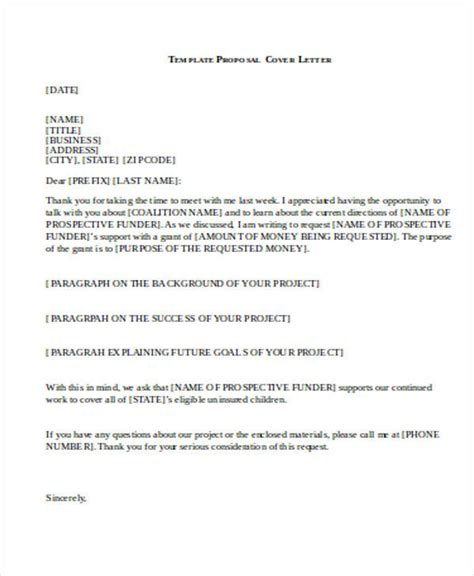 business proposal letter templates ms word