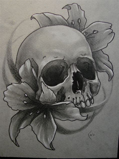 little skull tattoo designs sketch for by xenija88 on deviantart skulls